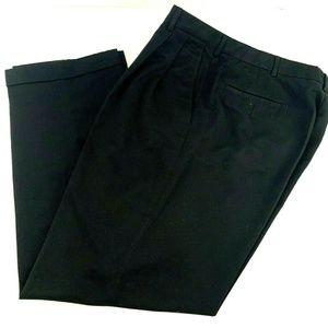 Savane Mens Dress Pants Black Size 33 x 30